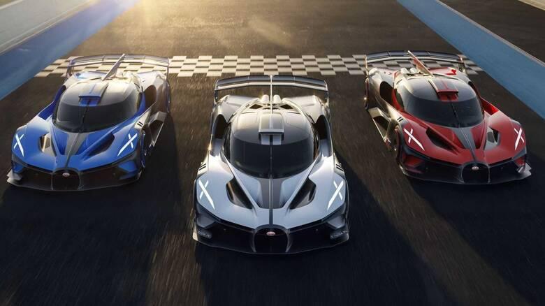 H Bugatti Bolide περνά στην παραγωγή με κόστος 4 εκατομμυρίων ευρώ