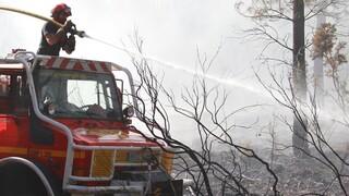 Γαλλία: Εκατοντάδες πυροσβέστες προσπαθούν να ελέγξουν πυρκαγιά στη Βαρ