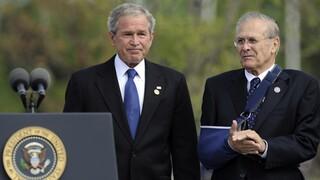 Ο πρώην πρόεδρος Μπους εκφράζει «βαθιά λύπη» για την κατάσταση στο Αφγανιστάν