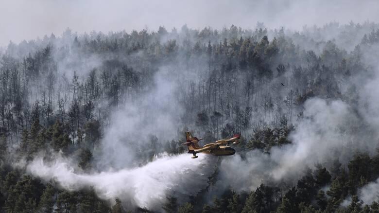 Φωτιά: Αποκαταστάθηκε η κυκλοφορία στην Κερατέα