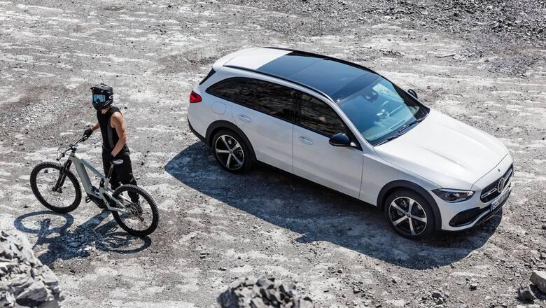Η νέα Mercedes C-Class παίρνει τα βουνά ως All-Terrain
