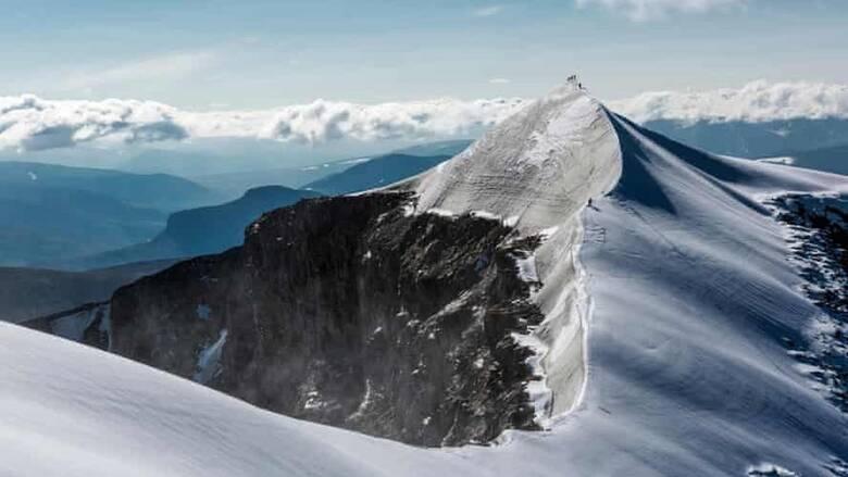 Σουηδικό βουνό συρρικνώθηκε κατά δύο μέτρα μέσα σε ένα χρόνο μετά το λιώσιμο παγετώνα