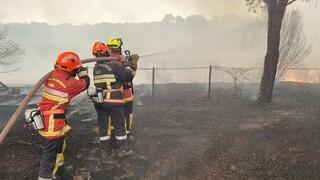 Γαλλία: Mαίνεται η φωτιά στην Κυανή Ακτή - Στάχτη 63.000 στρέμματα δάσους
