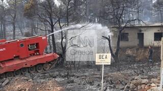 Φωτιά στα Βίλια: Τιτάνια μάχη των πυροσβεστών να ανακοπούν τα πύρινα μέτωπα
