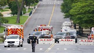 ΗΠΑ: Παραδόθηκε ο ύποπτος που απειλούσε να «ανατινάξει βόμβα» κοντά στο Καπιτώλιο