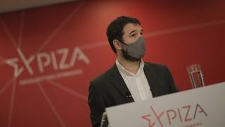 Ηλιόπουλος: Η πολιτική Μητσοτάκη έχει εκτοξεύσει την ανασφάλεια των πολιτών