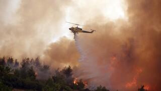 Ακραίος κίνδυνος πυρκαγιών σε Αττική και Εύβοια την Κυριακή