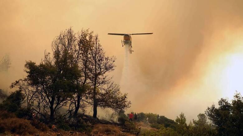 112: Ακραίος κίνδυνος πυρκαγιάς την Κυριακή σε Αττική και Εύβοια - Απαγορεύεται η πρόσβαση σε δάση