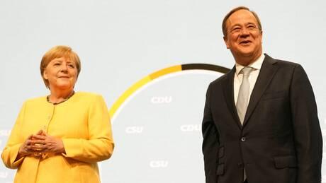 Γερμανία: Στην προεκλογική μάχη «ρίχνεται» η Μέρκελ προς υποστήριξη του Άρμιν Λάσετ