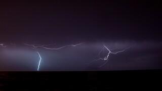 Καιρός: 1.600 κεραυνούς κατέγραψε το «Ζευς» - Ποιες περιοχές έπληξαν καταιγίδες