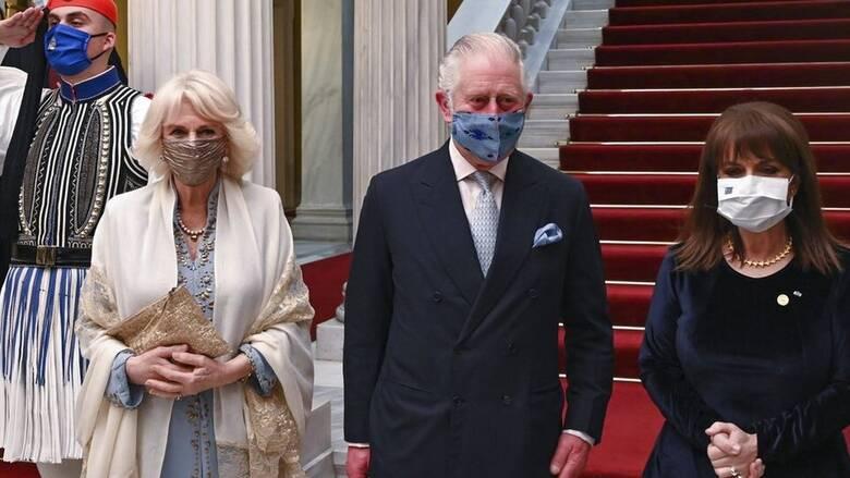 Πρίγκιπας Κάρολος: Επιστολή στην Πρόεδρο της Δημοκρατίας για τις πυρκαγιές στην Ελλάδα