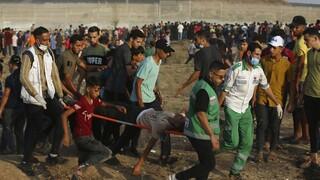 Γάζα: Δεκάδες τραυματίες από ισραηλινά πυρά κατά Παλαιστίνιων διαδηλωτών