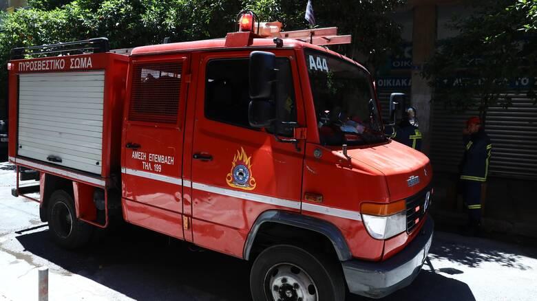 Κατερίνη: Φωτιά σε αποθήκη έκαψε 40 τόνους ρίγανη