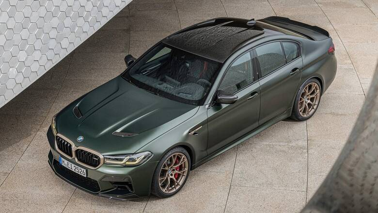 H νέα BMW της σειράς 5 θα είναι και ηλεκτρική - Η M5 plug-in υβριδική