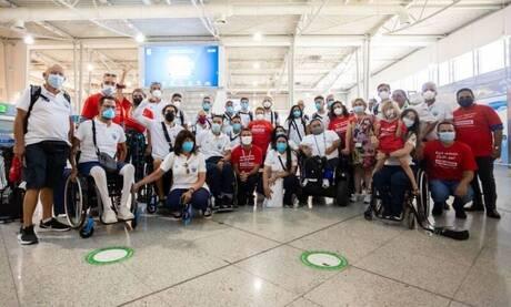 Κωτσόβολος: Μετέφερε ευχές του κοινού στην Ελληνική Παραολυμπιακή Ομάδα πριν την αναχώρηση για Τόκιo