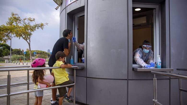 Κορωνοϊός: Ρεκόρ κρουσμάτων στο Ισραήλ - Ξεπεράστηκε το ορόσημο του 1 εκατ. μολύνσεων