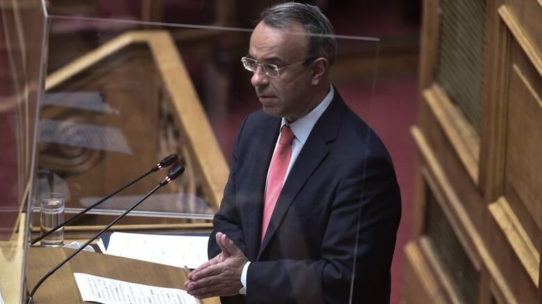 Σταϊκούρας: Εξετάζουμε μείωση ΕΝΦΙΑ κατά 8% - Ανοιχτό το ενδεχόμενο νέων μειώσεων φόρων το 2022