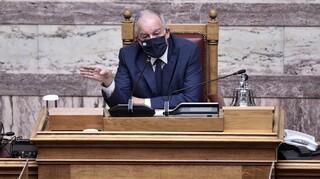 Τασούλας: Στήριξη της Βουλής στην αποκατάσταση των ζημιών από τις πυρκαγιές