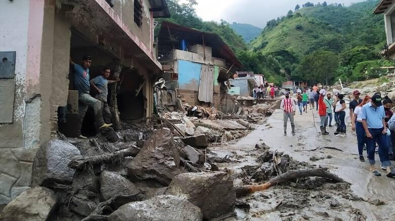 Βενεζουέλα: 20 νεκροί από καταρρακτώδεις βροχές