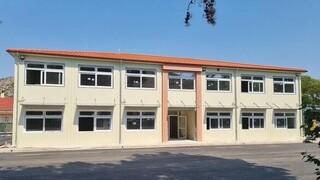 Μητσοτάκης: Έτοιμο το νέο δημοτικό σχολείο στο σεισμόπληκτο Δαμάσι