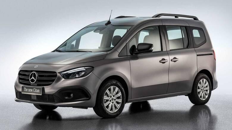 Το νέο Mercedes Citan μετατρέπεται και σε μίνι αυτοκινούμενο