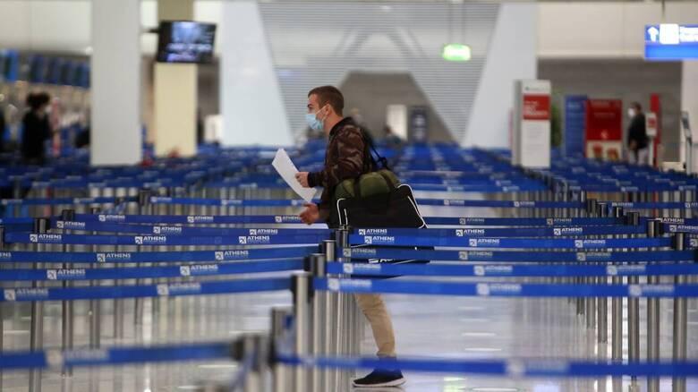 Κορωνοϊός - ΥΠΑ: Υποχρεωτικό τεστ στην άφιξη πτήσεων εξωτερικού για ταξιδιώτες από 16 χώρες