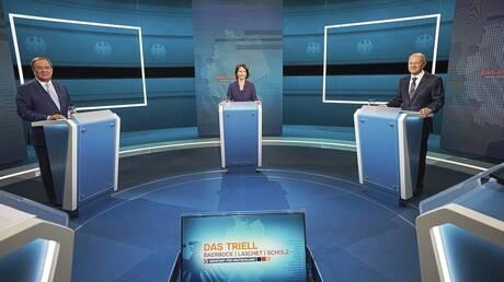 Γερμανία - Εκλογές: «Νικητής» ο Όλαφ Σολτς στην πρώτη τηλεμαχία με Λάσετ και Μπέρμποκ