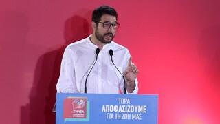 Ηλιόπουλος: Καμία αλλαγή προσώπων δεν απαλλάσσει τον κ. Μητσοτάκη από τις ευθύνες του