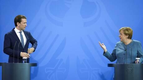 Γερμανία: Αποχαιρετιστήρια επίσκεψη Κουρτς στην Άνγκελα Μέρκελ