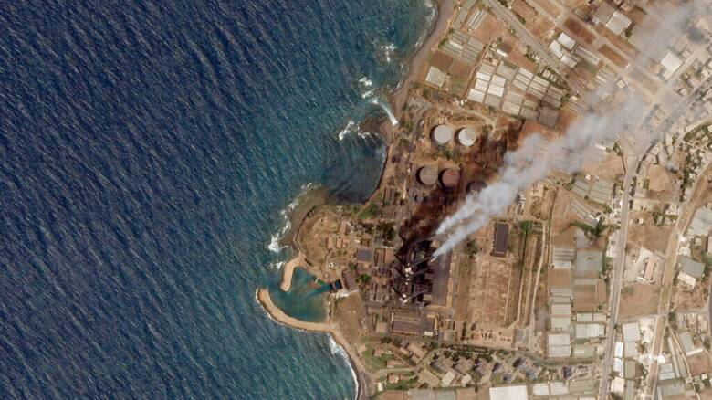 Τεχνική βοήθεια για την αντιμετώπιση της πετρελαιοκηλίδας ζητά η Κύπρος