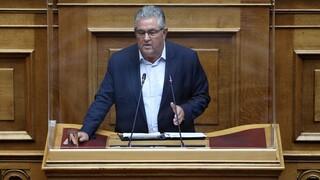 Μίκης Θεοδωράκης: Διακοπή των εργασιών της Βουλής λόγω του θανάτου του ζήτησε το ΚΚΕ