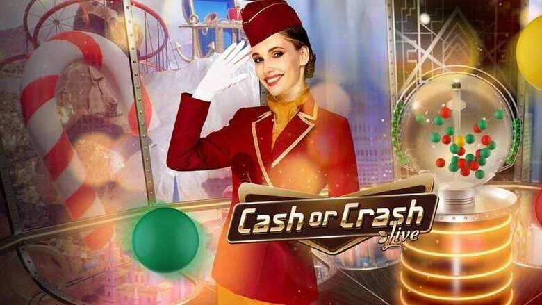 Cash or CrashστοLive CasinoτουPamestoixima.gr