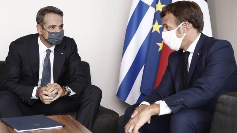 Στη Μασσαλία ο Μητσοτάκης: Γεύμα με Μακρόν και ομιλία με θέμα την Μεσόγειο