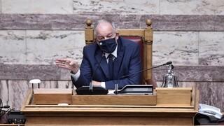 Τασούλας: Πέντε οι ανεμβολίαστοι βουλευτές - Το 90% υπαλλήλων της Βουλής έχει εμβολιαστεί