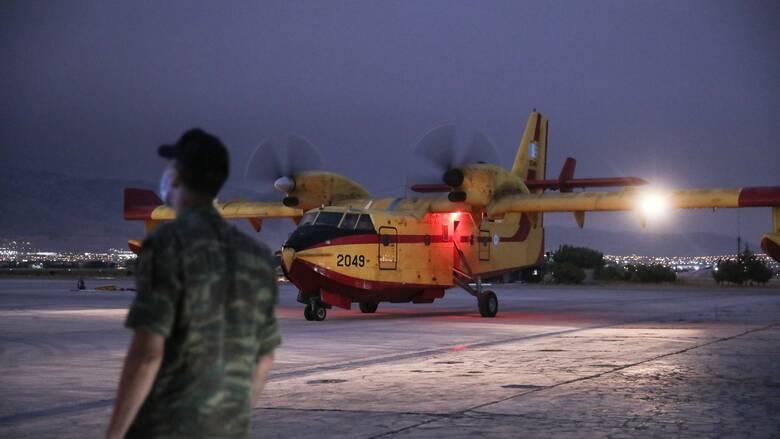 Ξεπέρασαν τις 2.000 ώρες πτήσης τον Αύγουστο τα πυροσβεστικά αεροσκάφη της Πολεμικής Αεροπορίας
