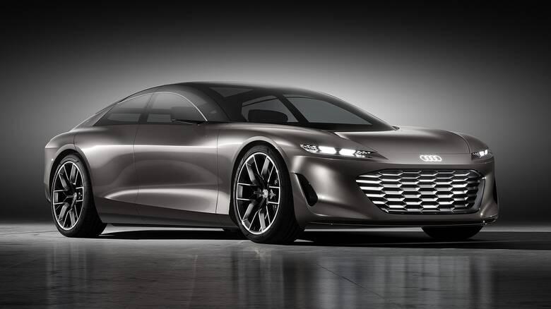 Το Audi grandsphere δείχνει τις ηλεκτρικές λιμουζίνες του μέλλοντος