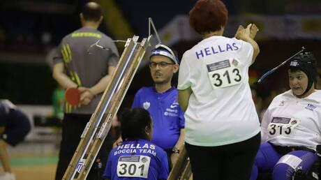 Παραολυμπιακοί Αγώνες: Χάλκινο μετάλλιο για την Ελλάδα στο μπότσια