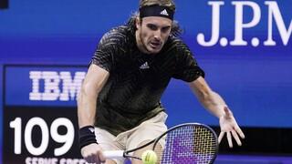 Αποκλεισμός με παράπονα για Τσιτσιπά στο US Open: «Ο κόσμος δεν καταλαβαίνει»