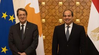 Αναστασιάδης - Αλ Σίσι: Πάγια αιγυπτιακή στήριξη στο Κυπριακό - Στρατηγική διμερής συνεργασία