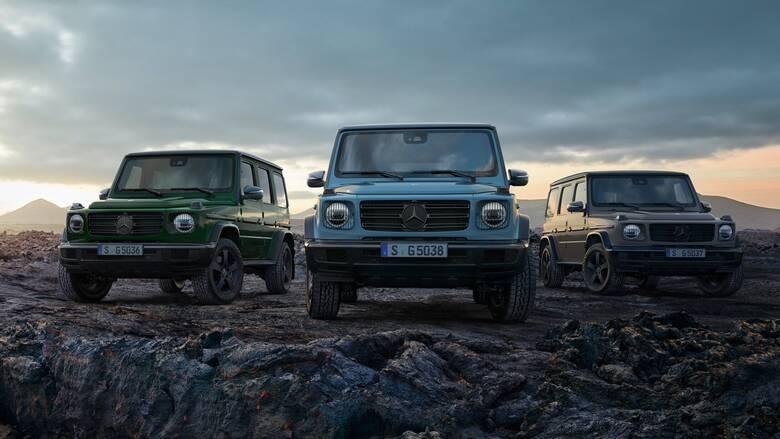 Το κορυφαίο SUV της Mercedes, η G-Class, θα γίνει ηλεκτρική