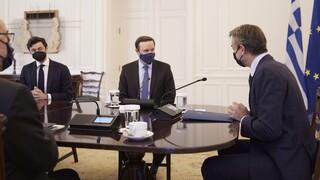 Στο Μαξίμου οι Γερουσιαστές Μέρφι και Όσοφ - Μητσοτάκης: Όλο και πιο δυνατή η σχέση Ελλάδας-ΗΠΑ