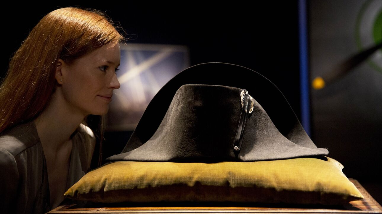 Καπέλο του Ναπολέοντα Βοναπάρτη βγαίνει σε δημοπρασία - Ένα από τα περίφημα δίκοχα