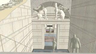 Αμφίπολη: Το ταφικό μνημείο αποκτά προστατευτικό κέλυφος και διαδρομές επίσκεψης