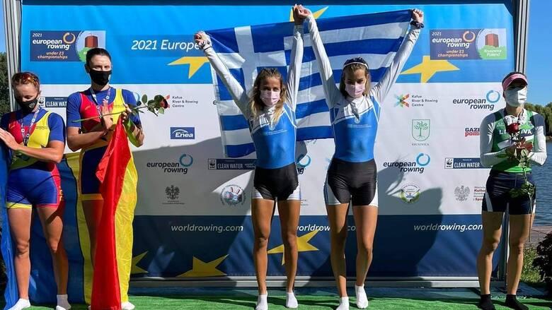 «Χρυσές» η ΟΠΑΠ Champion Ευαγγελία Αναστασιάδου και η Ευαγγελία Φράγκου