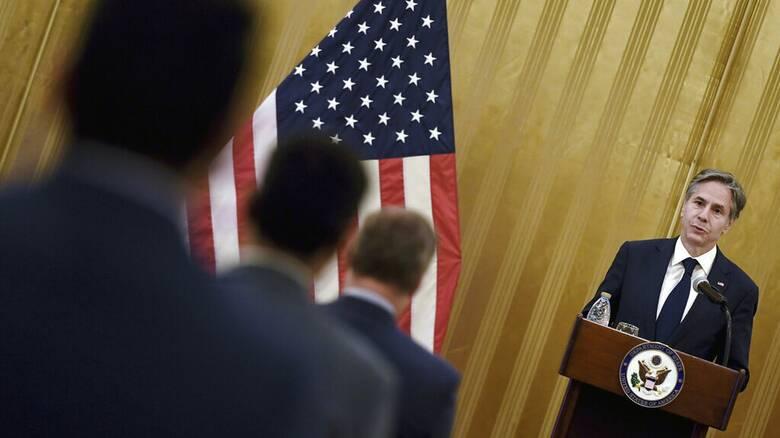 Μπλίνκεν στο Κατάρ: Οι Ταλιμπάν δεσμεύονται ενώπιον των ΗΠΑ για ασφαλή έξοδο Αφγανών