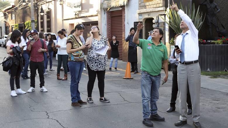 Σεισμός 7,1 Ρίχτερ στο Μεξικό: Ένας νεκρός και πολλές ζημιές