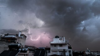 Καιρός: Επικίνδυνα καιρικά φαινόμενα σε πολλές περιοχές της χώρας