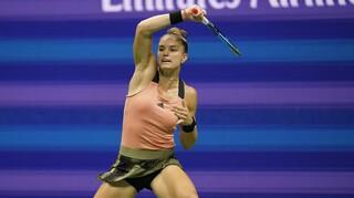 US Open: Στα ημιτελικά η Μαρία Σάκκαρη με εκπληκτική εμφάνιση