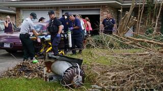 Κυκλώνας Άιντα: Τους 26 έφτασαν οι νεκροί στη Λουιζιάνα