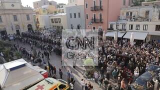 Μίκης Θεοδωράκης: Εικόνες από το τελευταίο του ταξίδι στην Κρήτη